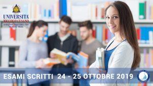 Sedi e orari esami scritti giovedì 24 e venerdì 25 ottobre ...