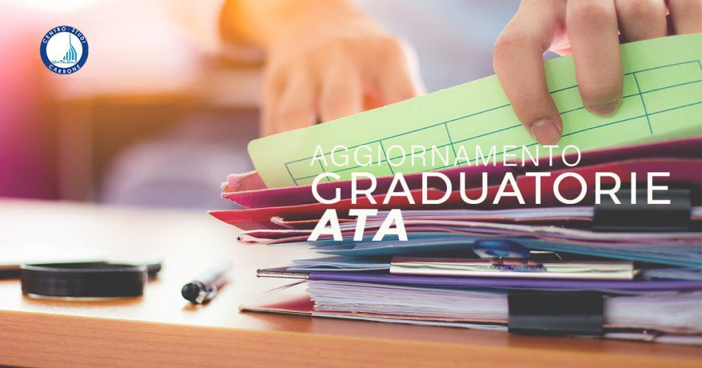 Aperte le procedure di aggiornamento graduatorie ATA 24 mesi